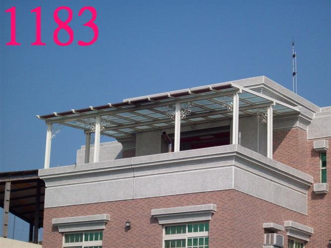 [建材]屋顶加盖铁皮屋图片