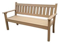 塑木公園椅