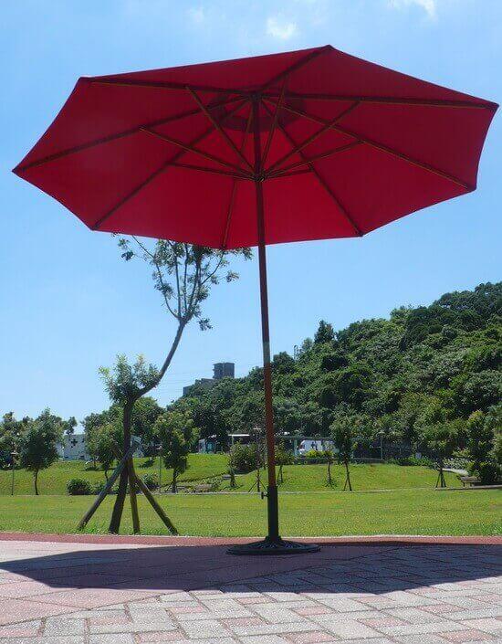 咖啡店洋傘