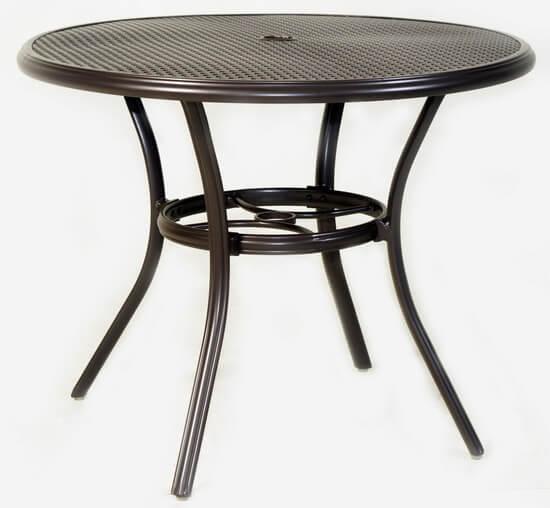 鋁合金庭院桌
