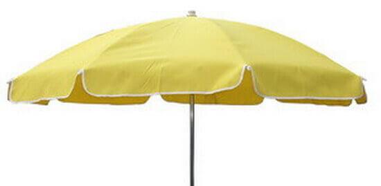 海灘大洋傘