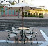 戶外傘休閒桌椅